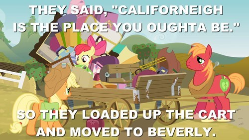 applejack,Apple Family,Big Macintosh,beverly hillbillies,black gold