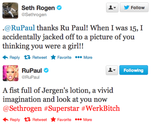 celeb rupaul Seth Rogen failbook - 7984490752