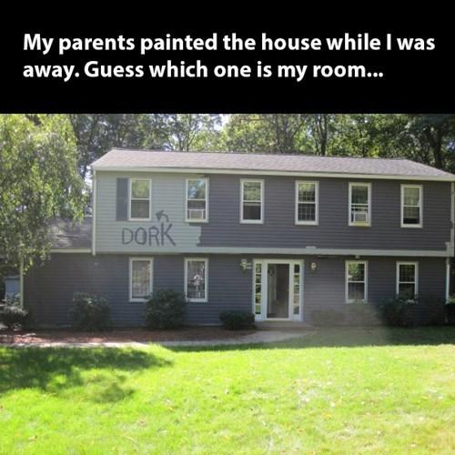 dork painting parents parenting - 7984507648