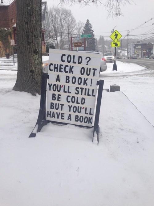books snow signs - 7984524032