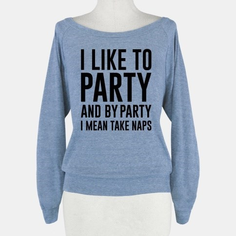 fashion Party nap sweater poorly dressed g rated - 7984591360