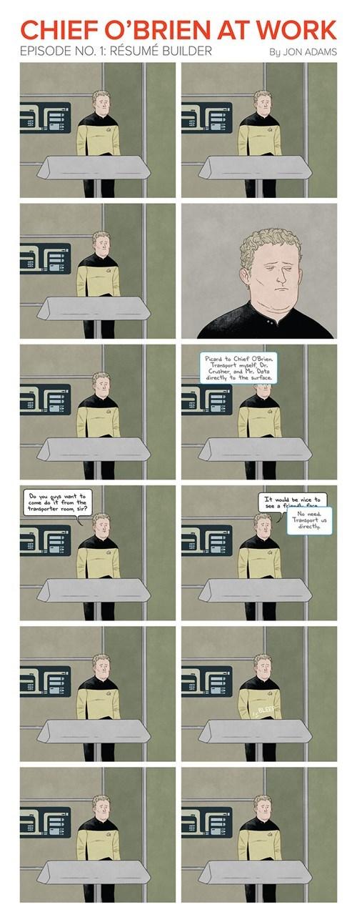 chief-obrien Star Trek TNG web comics - 7984592640