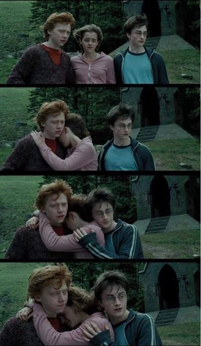 Harry Potter hermione granger Ron Weasley third wheel - 7984675840