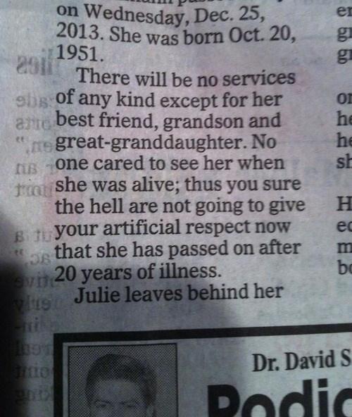 Death obituaries newspapers - 7984685312
