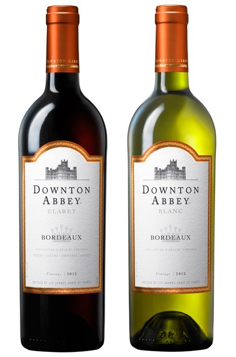 downton abbey funny TV wine - 7984747264