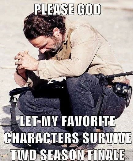 finale,Rick Grimes,The Walking Dead,chopping block