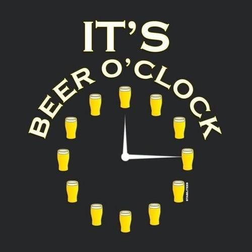 beer clock funny time - 7984790016