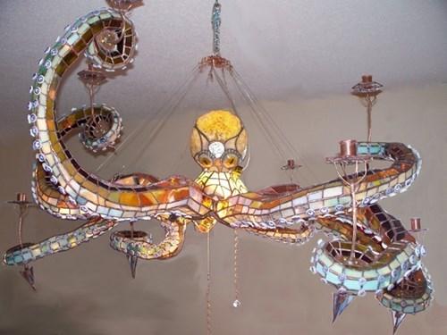chandelier design octopus - 7984813568