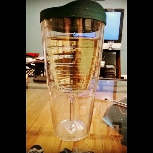 glass funny wine sippy cup