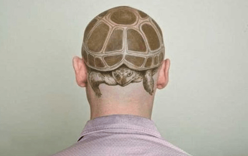 wtf heads turtles tattoos g rated Ugliest Tattoos