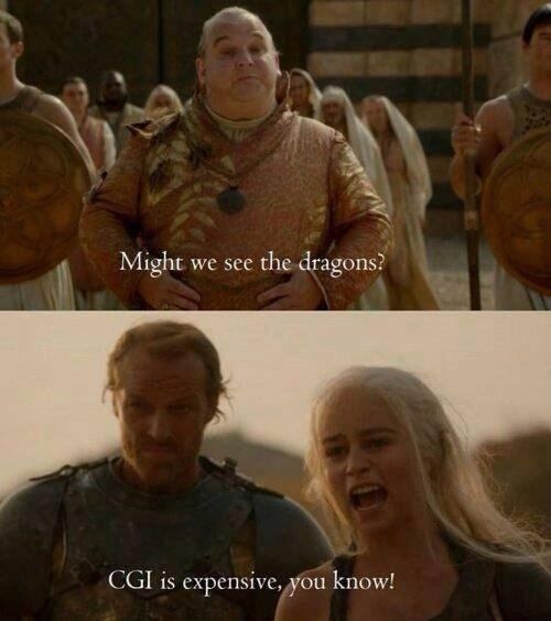 cgi Daenerys Targaryen Game of Thrones dragons khaleesi - 7984897024