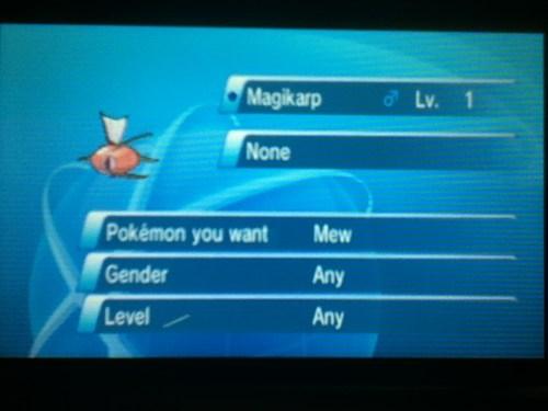 magikarp GTS Pokémon - 7984909056