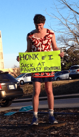 sports,fantasy football,prank