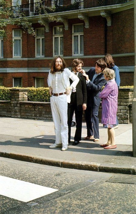 the Beatles abbey road safety first g rated Music - 7984954624