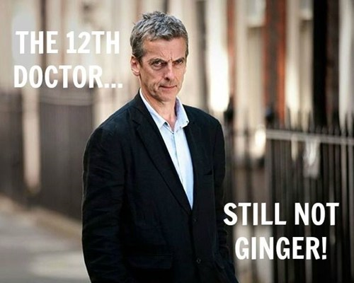 12th Doctor ginger hair - 7985063936