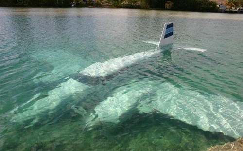 You mean this isn't a seaplane?