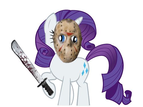 jason vorhees,friday the 13th,mashup,rarity