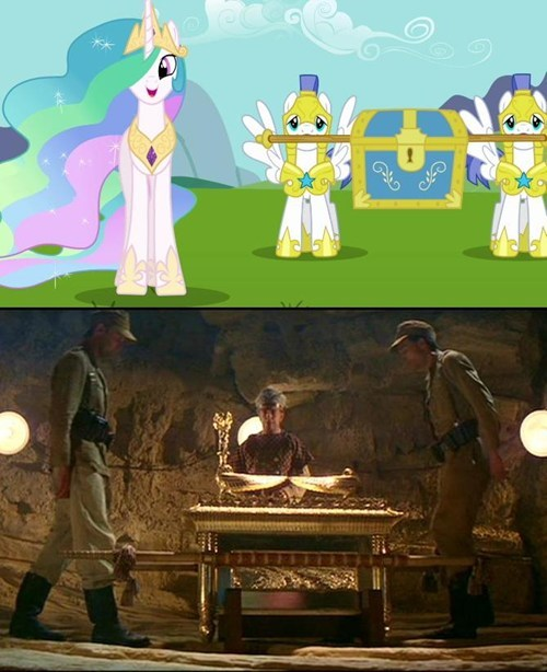 MLP,elements of harmony,mashup,raiders of the lost ark