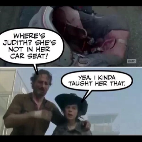 carl grimes judith grimes stay in the house - 7986162688