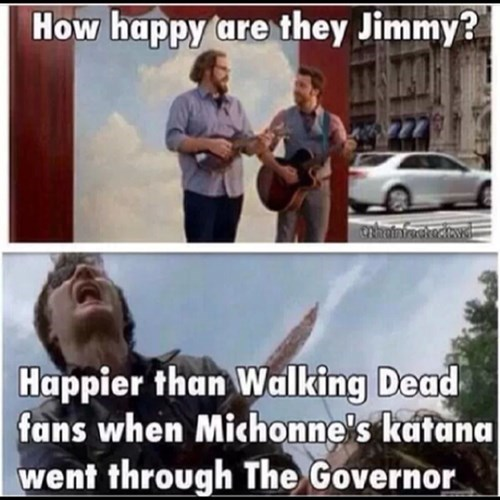 the governor GEICO michonne