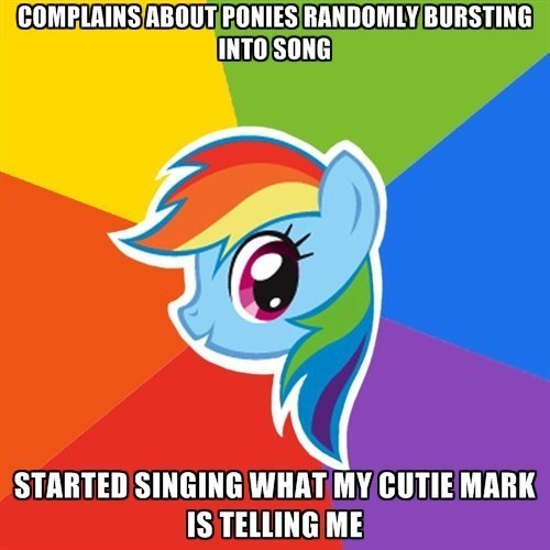 Songs rainbow dash what my cutie mark is telling me