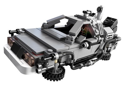 back to the future,DeLorean,lego