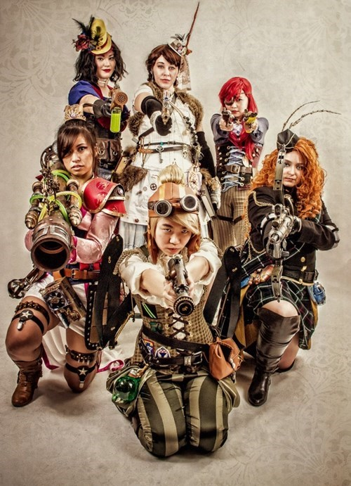 cosplay disney Steampunk - 7986245632