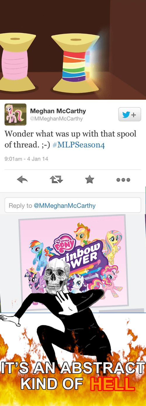 meghan mccarthy,rainbow,twitter,thread,mlp season 4