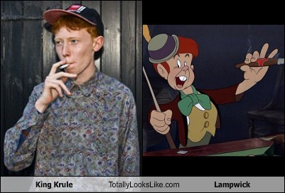 king krule,totally looks like,lampwick