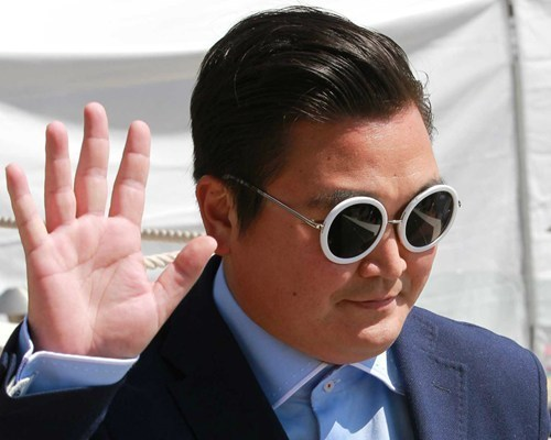 psy impostor,psych,cannes film festival,fake psy,naomie harris,impostor,conman,gangnam style,psy,funny