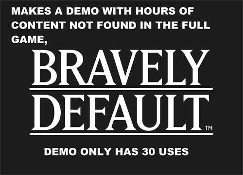 3DS demos bravely default - 7987770624