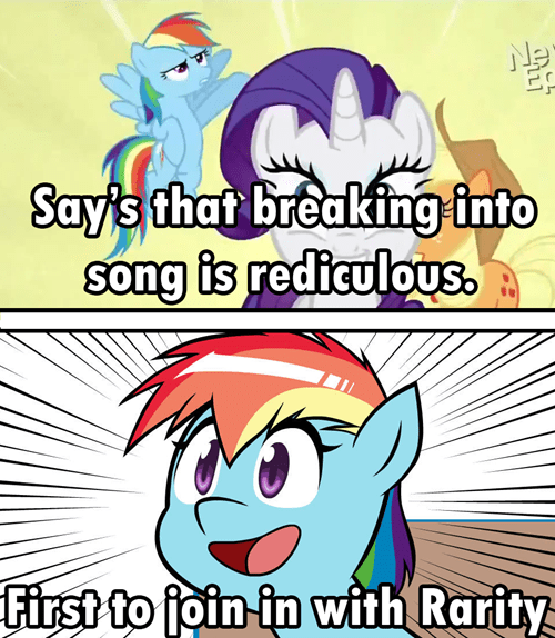 Songs,rarity,rainbow dash,musical numbers