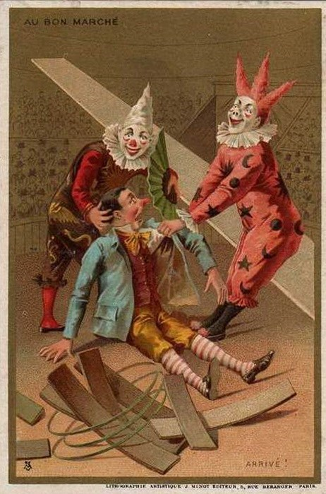 clowns,vintage,wtf