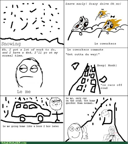 driving panic snow - 7988663808