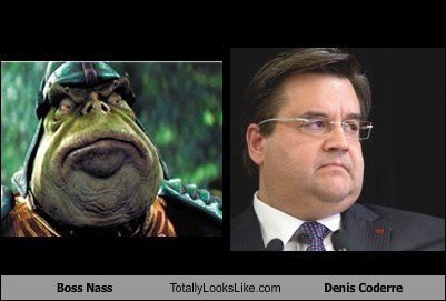 totally looks like denis coderre Boss Nass