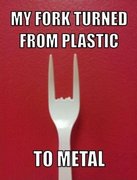 fork metal the horns - 7989140224