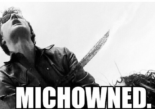 michonne,the governor,stabbing