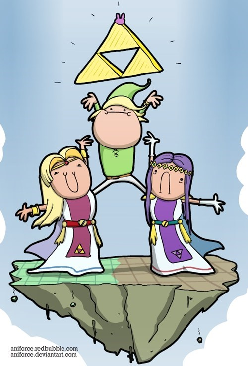 triforce zelda derp - 7990024192