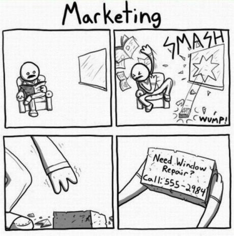bricks,marketing,windows,web comics
