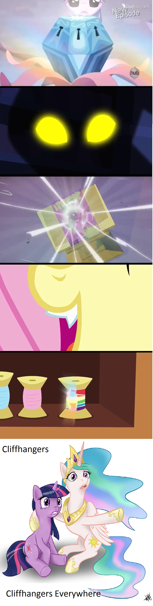 mlp season 4 clifhanger the last thirty seconds - 7990337280