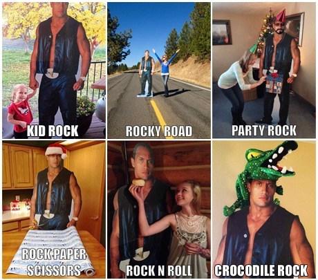 puns,the rock