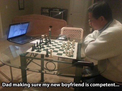 dating,chess,dads,parenting