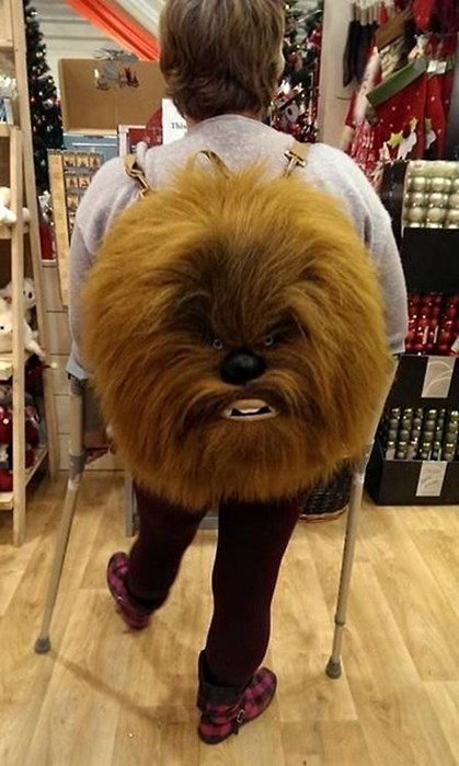 backpacks chewbacca star wars