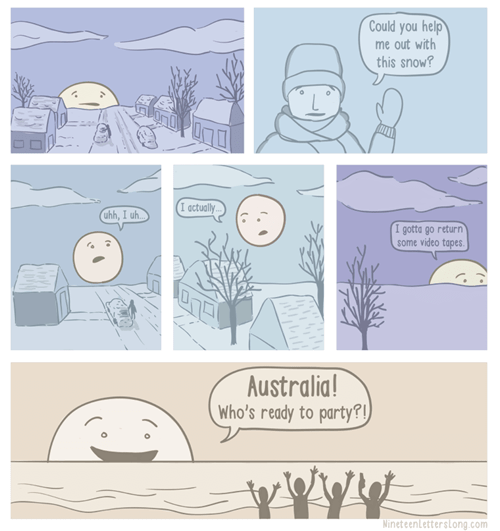 australia Party sun web comics - 7990564352