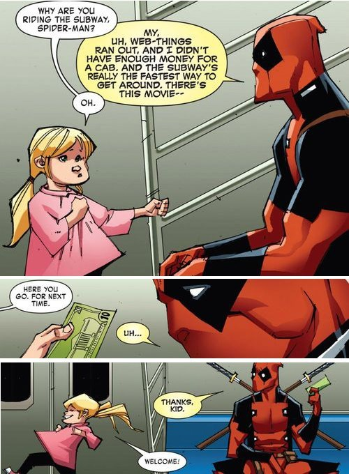 charity deadpool off the page - 7990590976
