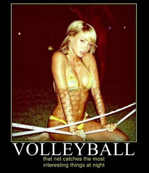 Sexy Ladies funny net sports volleyball - 7990666752