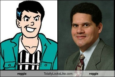 Archie,totally looks like,reggie fils-aime,reggie mantle