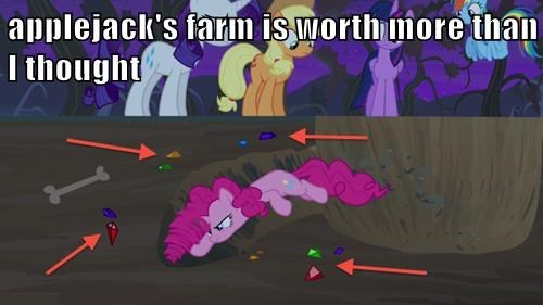 gems,pinkie pie,apple farms