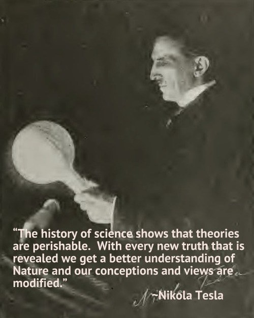 history funny science Nikola Tesla theories - 7990913280