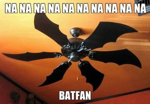 batman,ceiling fan,puns,Theme Song